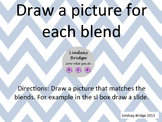 Blends picture drawing activity