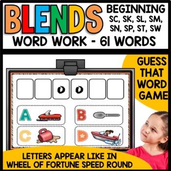 Blends (sc, sk, sl, sm, sn, sp, st, sw)