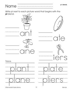 Blends to Improve Phonemic Awareness