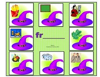 """Blends """"tr"""" & 'fr"""": File Folder Activity"""