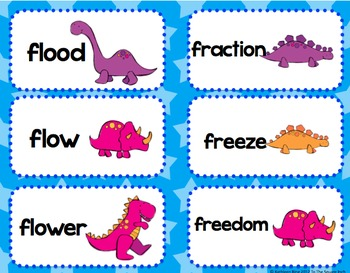 Blends with F Literacy Activities