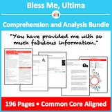 Bless Me, Ultima – Comprehension and Analysis Bundle