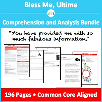 Bless Me, Ultima – Comprehension and Analysis Bundle