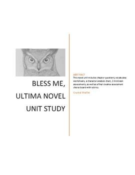 Bless Me, Ultima Novel Study