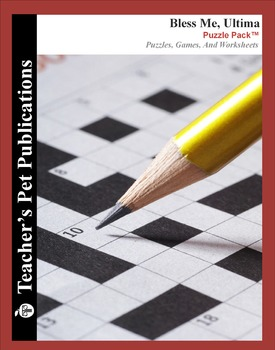 Bless Me Ultima: Puzzle Pack - Crosswords, Worksheets, Games