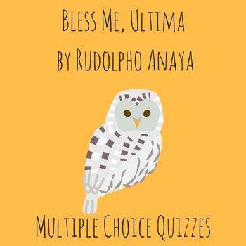 Bless Me, Ultima Quizzes (Covers Whole Book) by NCELATEACH ...