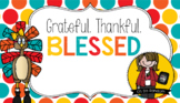 Blessed / Thanksgiving Tag