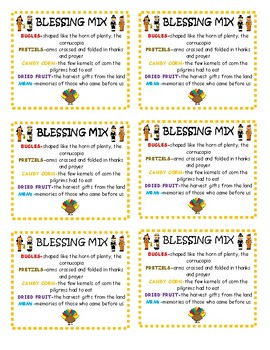 Blessing Mix printable tags