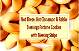 Blessings Fortune Cookies Recipe Cinnamon and Raisin with