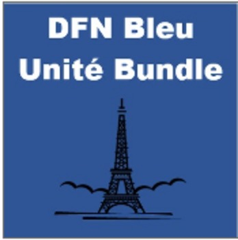 Bleu Full French I curriculum Mega Bundle