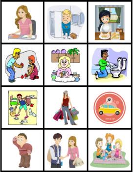 Bleu Unit 7 Leçon 21 page 310 TPRS Vocabulary activities
