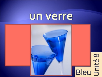 Bleu unit 8 vocabulary power point
