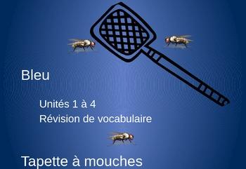 Bleu Units 1 - 4 Tapette à mouches Flyswatter games PowerPoint version