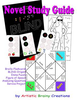 Blind: A Novel Guide for High School Critical Thinking and Activities of Braille