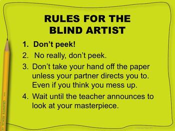 [ICEBREAKER] Blind Artist Game: Version #1