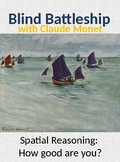 Blind Battleship with Claude Monet