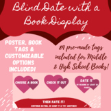 Blind Date with a Book Library Display for Valentines Day-