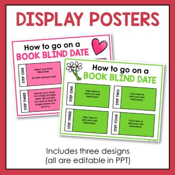 Blind Date with a Book: Set-Up Kit for Valentine's Day (Grades 6-12)