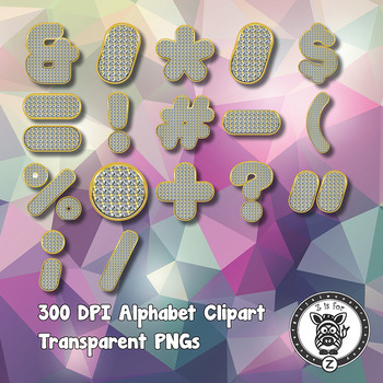 Bling Alphabet Alpha Clip Art