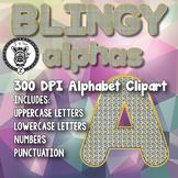 Bling Alphabet Alpha Clip Art