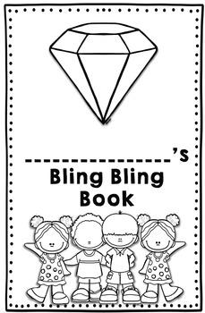 Bling Bling Book- A Positive Behavior Sticker Book by Kinder League
