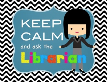 Bling my Library with cute signs - Choose your Avatar