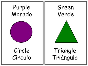 Blingual Shapes and Colors