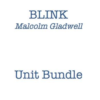 Blink by Malcolm Gladwell Unit Bundle