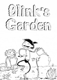 Blink's Garden Coloring Sheets