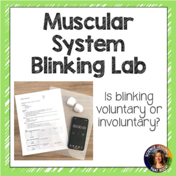 Muscular System- Blinking Lab