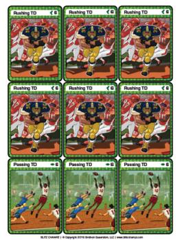 Blitz Champz football card game (print-and-play version)