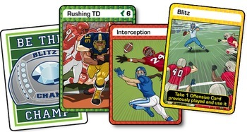 Blitz Champz football card game (print-and-play version) - DISTANCE LEARNING