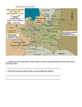 Blitzkrieg Lesson Plan