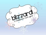 Blizzard:  A Multiplication Facts Game {Common Core Aligned 3.OA.7}