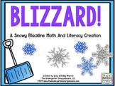 Blizzard! Snow & Winter Themed Math And Literacy BLACKLINE Centers