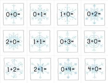 Blizzard:  An Addition/Subtraction Facts Game {Common Core Aligned)