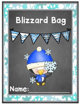 Blizzard Bag Cover