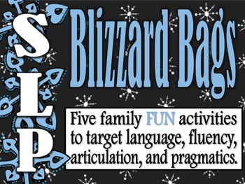 Blizzard Bags for SLPs