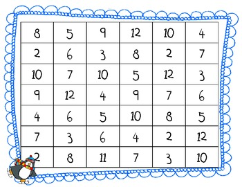 Blizzard Math centers and games (Common Core Aligned)