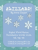 Blizzard Sight Word Game -nd,-ng,-nk