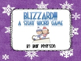 Blizzard!  Sight Word Practice