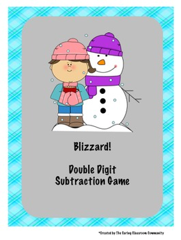 Blizzard Subtraction & Addition with Regrouping Game