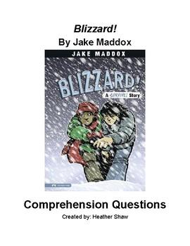 Blizzard! by Jake Maddox
