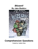 Blizzard! by Jake Maddox