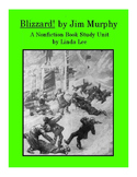 Blizzard! by Jim Murphy:  A Nonfiction Book Study Unit