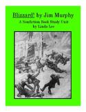 Blizzard! by Jim Murphy:  A Nonfiction Book Study Unit