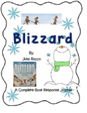 Blizzard by John Rocco-A Complete Book Response Journal