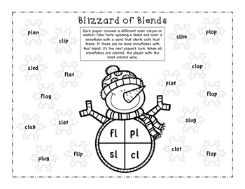 Blizzard of Blends (Spin and Color)