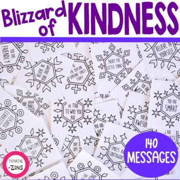 Blizzard of Kindness Activity