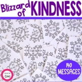 Blizzard of Kindness Activity | Kindness Snowflakes | Snow